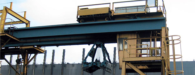 Cranes - Grab Crane Drives at Tata Steel, Scunthorpe