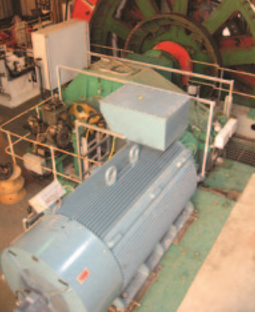 800kW A.C Winch Drive System Installation at a Cheshire Salt Mine