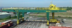 Cranes - Arrol Crane Drive Drive System by Drives and Automation