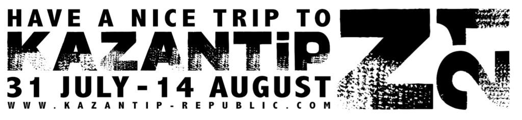 Kazantip Logo Dates 1