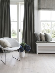 modern contemporary curtains and soft furnishings Sussex
