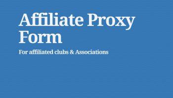affiliate proxy form