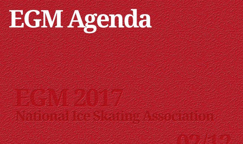 egm agenda