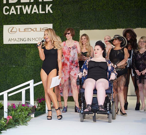 ideal home show catwalk show