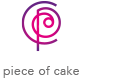 Piece of Cake Retina Logo